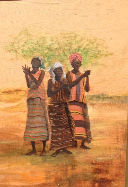 Original painting by Rafael DeSoto