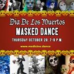 3rd Annual Dia De Los Muertos Masked Dance!